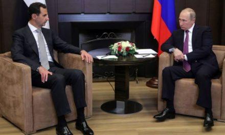 أبعاد زيارة الرئيس بشار الأسد إلى سوتشي