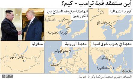 تحضيرات متسارعة لقمة كورية أمريكية مرتقبة