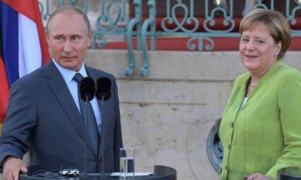 لقاء بوتين – ميركل: سوريا وأوكرانيا.. والغاز
