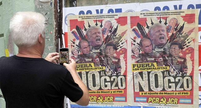 """""""قمة العشرين"""": مواجهات بين التكتلات الإقتصادية العالمية"""