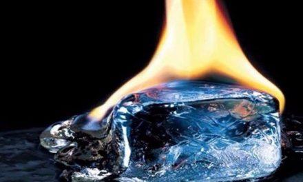 """""""الجليد المشتعل"""": إكتشاف دونه معوقات"""