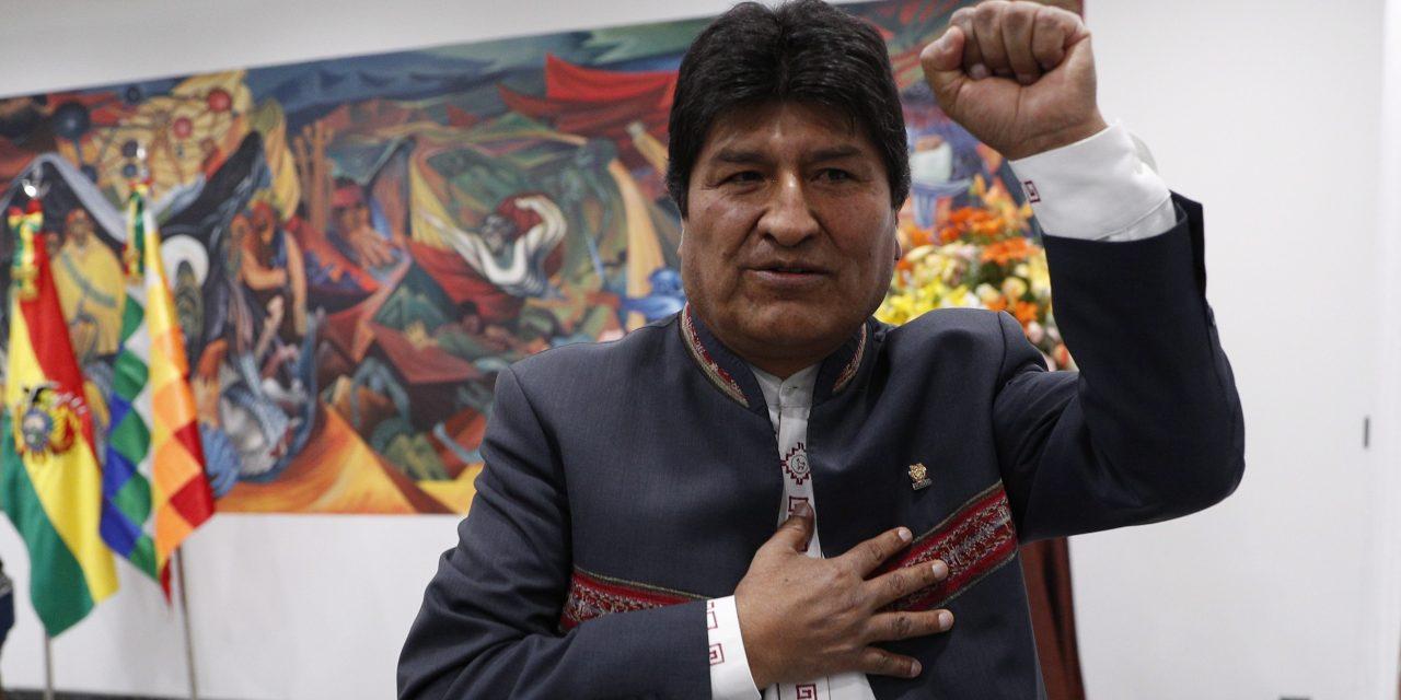 بوليفيا: إلى اليسار در