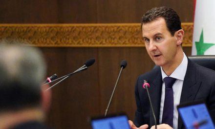 الرئيس الأسد سبب كل ما يجري في المنطقة والعالم