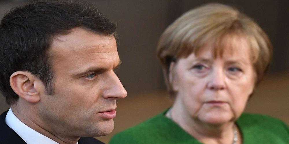 الإستراتيجية الأوروبية.. بين ماكرون الهجومي وميركل المترددة
