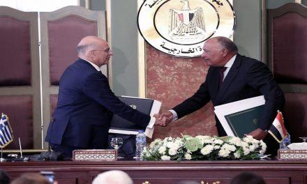 الإتفاقية البحرية المصرية – اليونانية.. عرقلة لمخططات أنقرة؟!