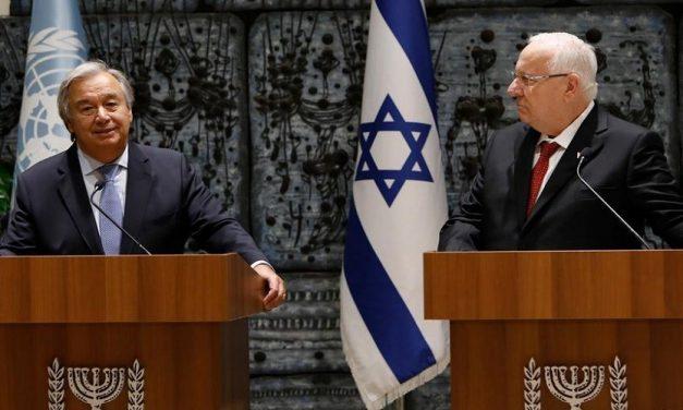 إسرائيل والأمم المتحدة