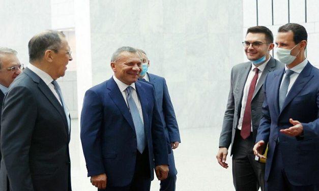 """روسيا تعلن عن """"مرحلة جديدة"""" من دمشق"""