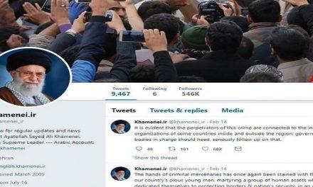 """لماذا على """"تويتر"""" حظر حساب المرشد الأعلى للثورة؟"""