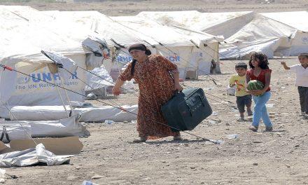 أزمات قاطني مخيمات النزوح في الشرق الأوسط
