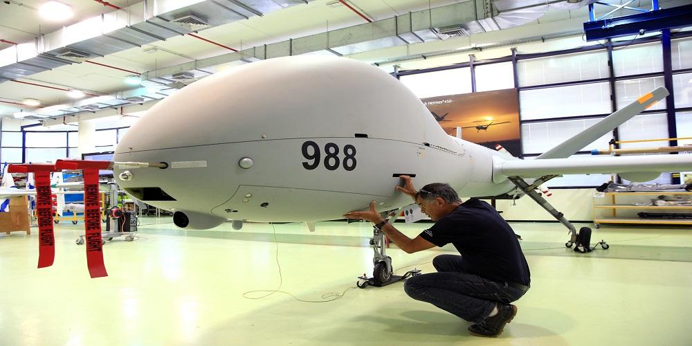 """هل وقعت الهند عقداً مع إسرائيل لشراء طائرات """"هيرمس – 900″؟"""