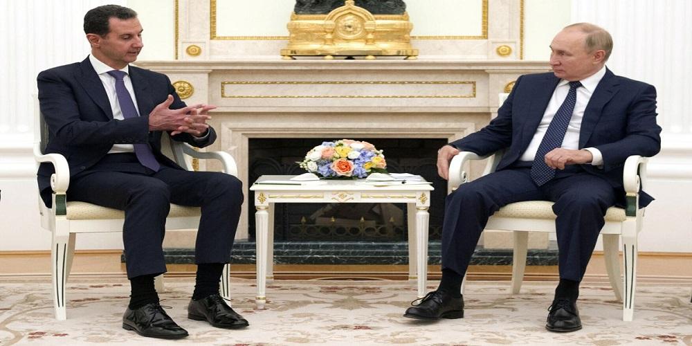 مدلولات وأبعاد زيارة الرئيس السوري إلى روسيا